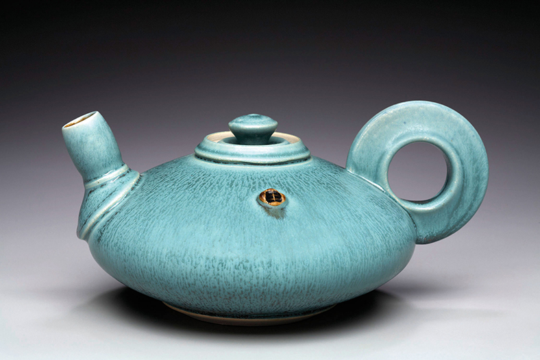 """The Green Tea Pot"" by Nick DeVries"